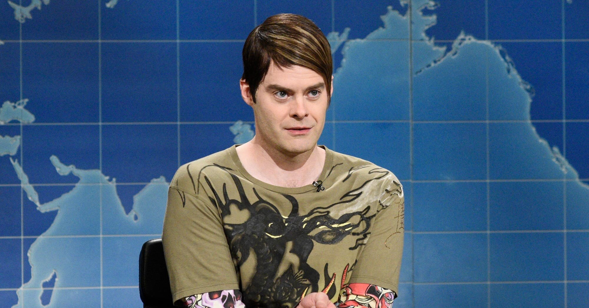 Watch Bill Hader and Seth Meyers reveal how Stefon is handling the pandemic: 'He was probably patient zero' – Entertainment Weekly