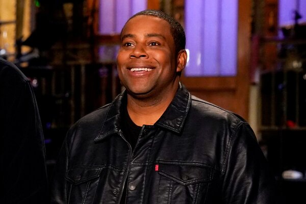 SATURDAY NIGHT LIVE -- Episode 1747 -- Pictured: Kenan Thompson in Studio 8H during a promo -- (Photo by: Rosalind O'Connor/NBC)