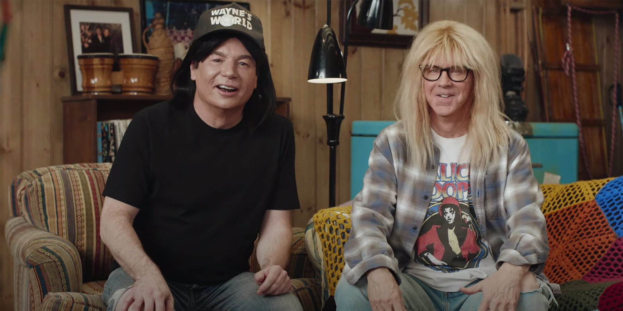 'Wayne's World' stars Mike Myers and Dana Carvey reunite in 'excellent' Super Bowl ad – Entertainment Weekly