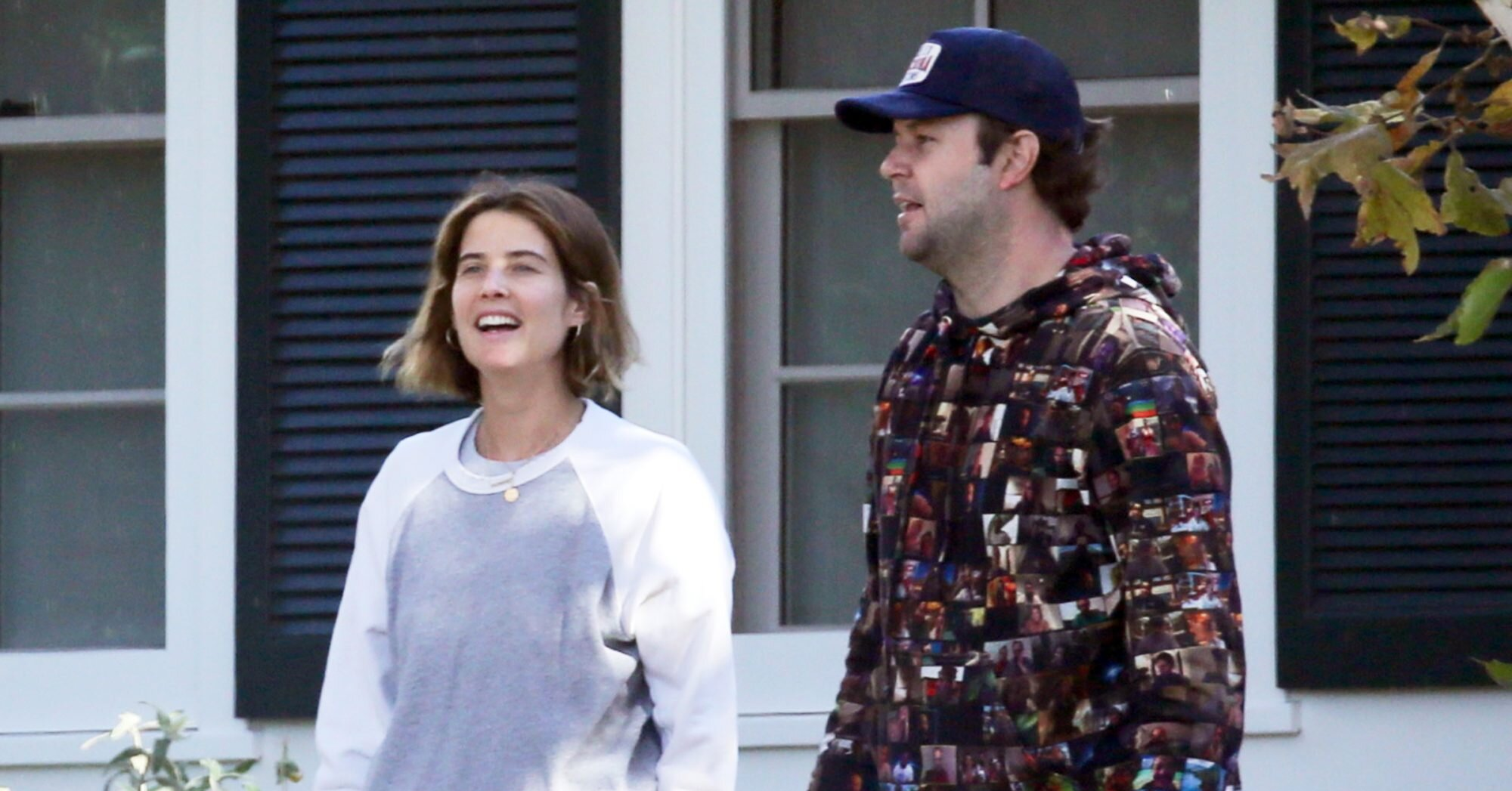 Cobie Smulders and Taran Killam Prep for the Holidays in L.A., Plus Minnie Driver, Princess Eugenie and More