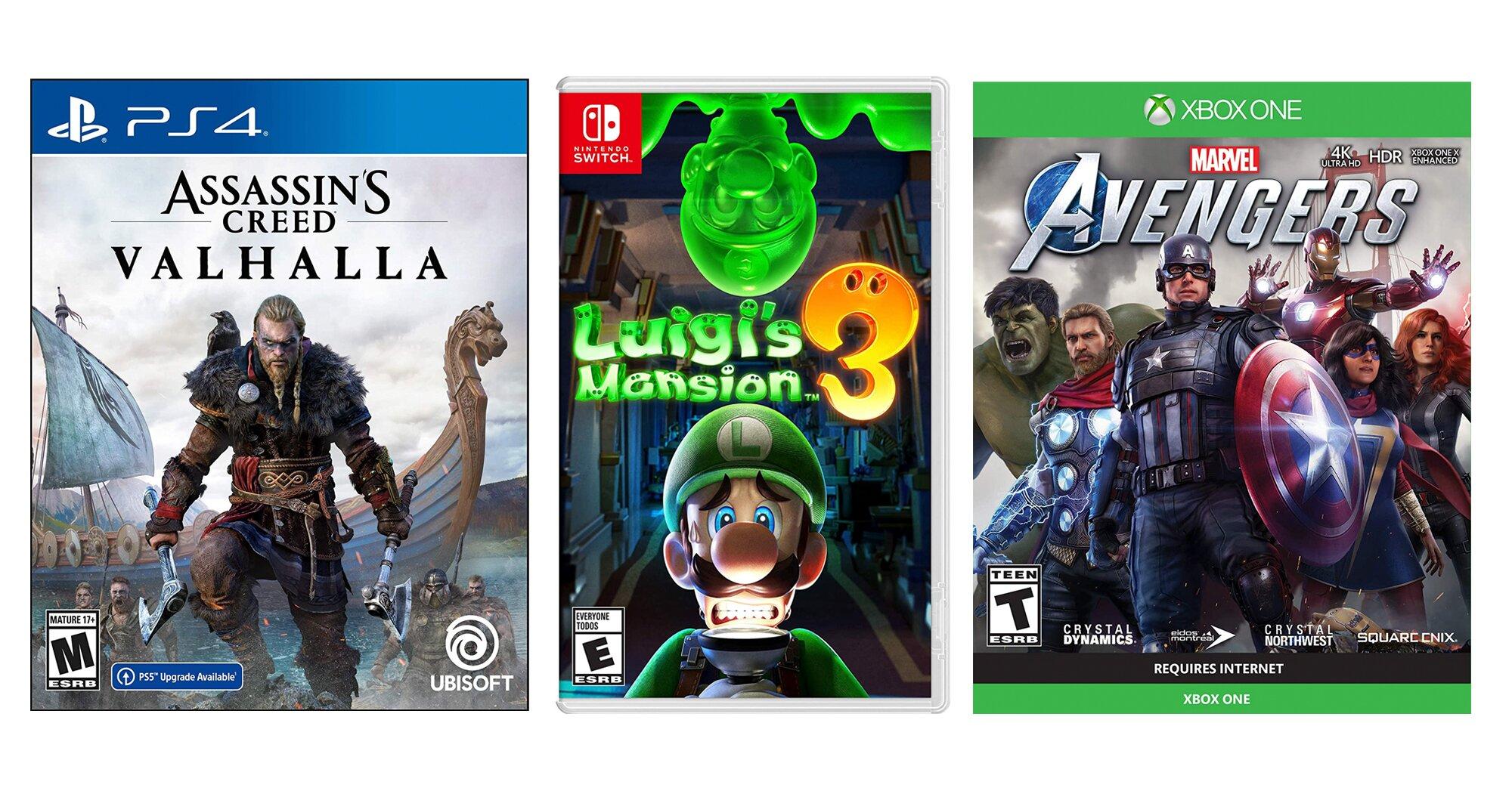 Amazon Prime Day 2020 Gaming Deals Nintendo Playstation Xbox Ew Com
