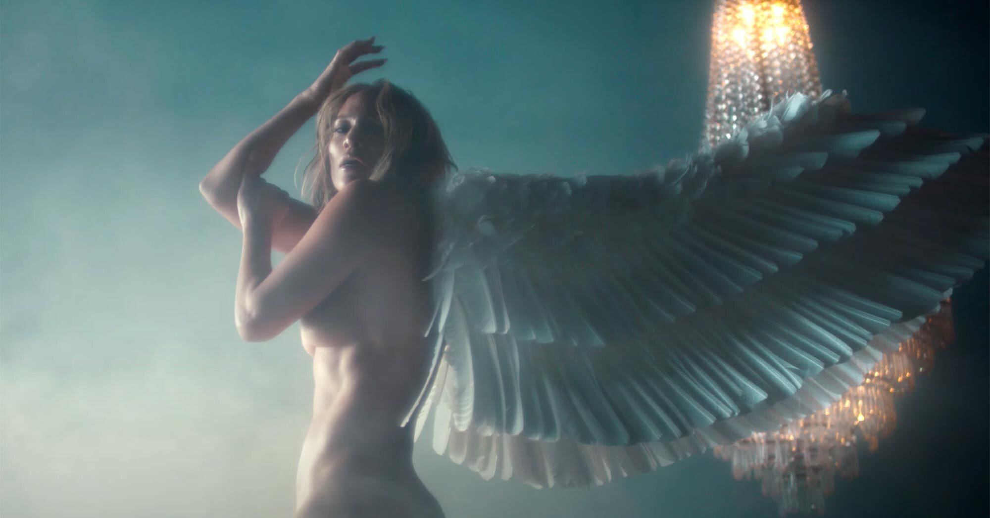Sexy angels and mermaids abound in Jennifer Lopez's 'In the Morning' video.jpg