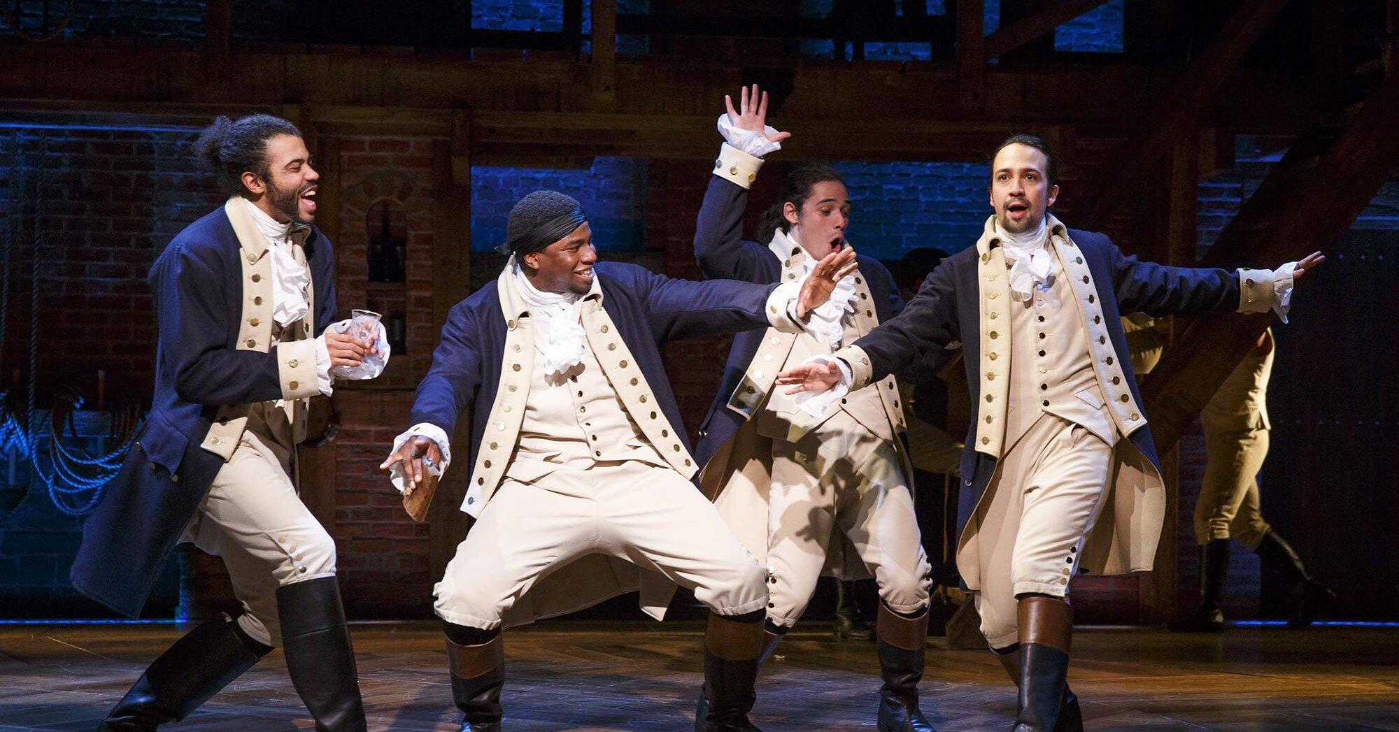 Celebrities revisit seeing <em>Hamilton</em> live as filmed version hits Disney+