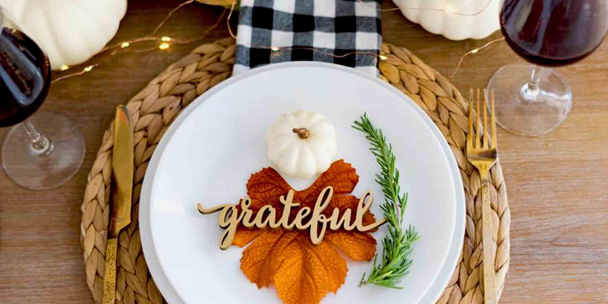 6 Items That Will Make Your Small Thanksgiving Dinner Feel Special