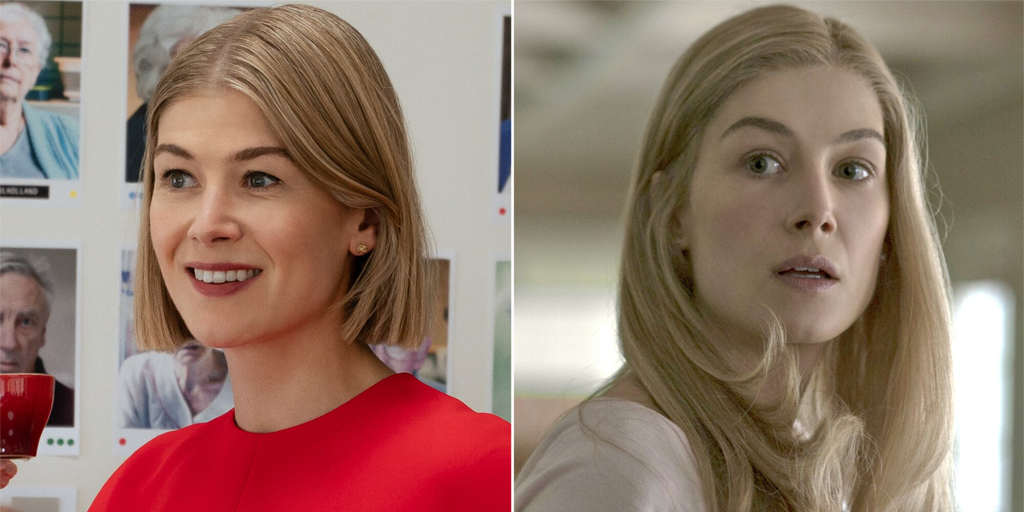 Rosamund Pike compares her cunning antiheroines in 'I Care a Lot' and 'Gone Girl' - Entertainment Weekly