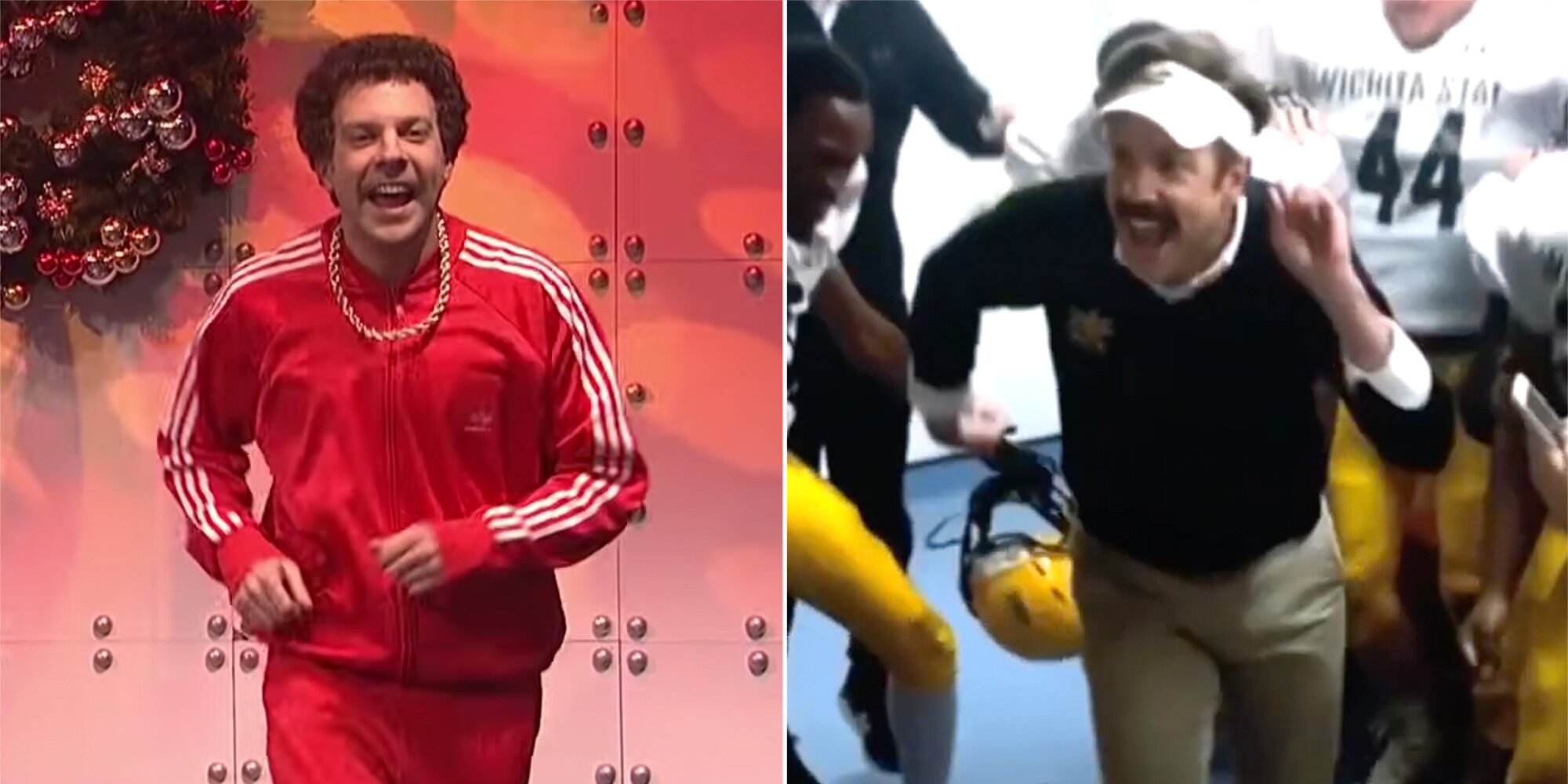 Jason Sudeikis reveals origin of his famed 'SNL' dance and why he did it again on 'Ted Lasso'