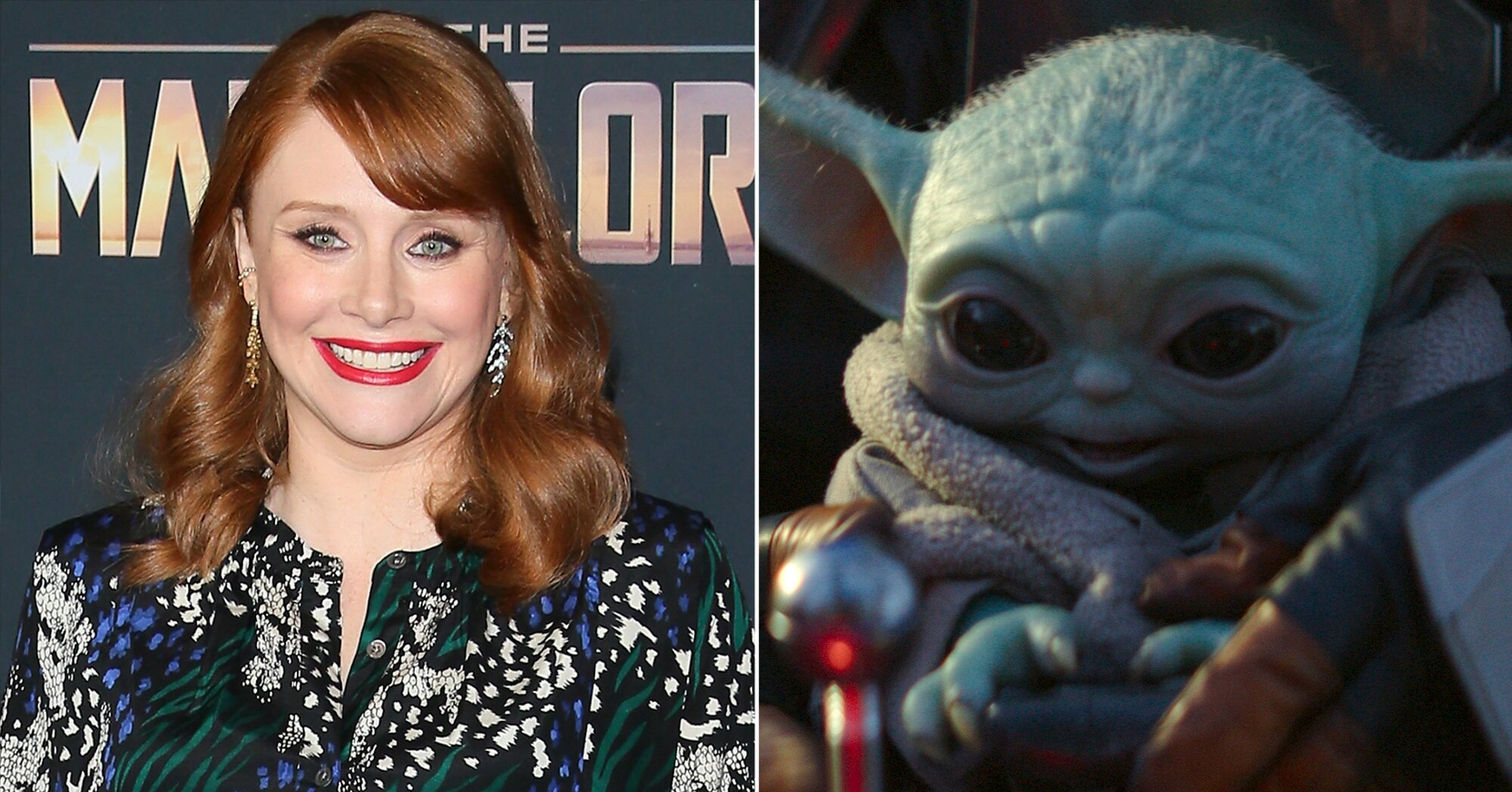 Bryce Dallas Howard was afraid her kids would spill the beans about <em>The Mandalorian</em>'s Baby Yoda