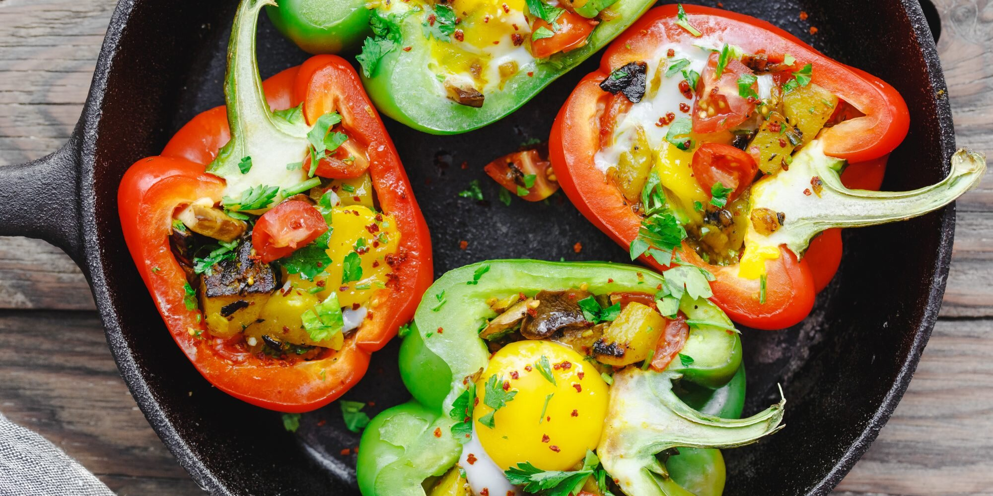 How to Cook Those Viral Egg and Potato Stuffed Peppers to Perfection