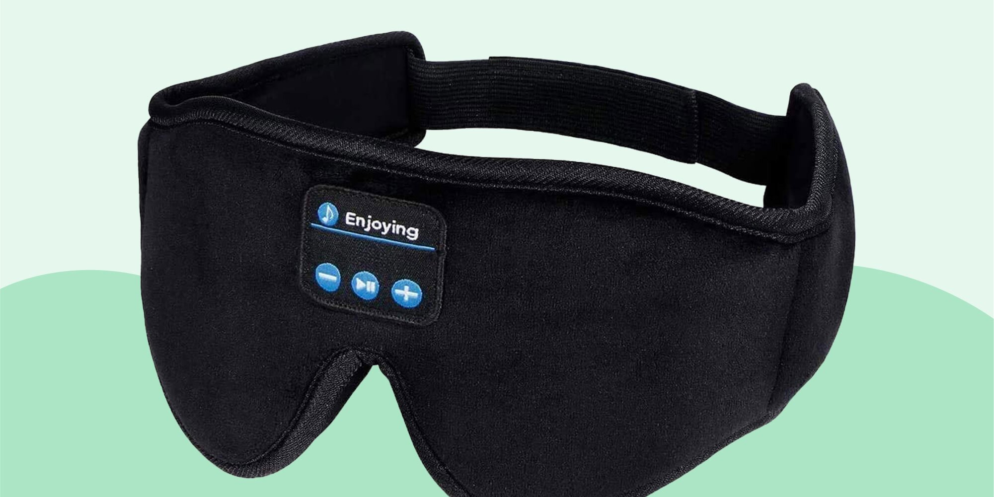 If You Can't Fall Asleep Without Music, You Need This Eye Mask for Side Sleepers