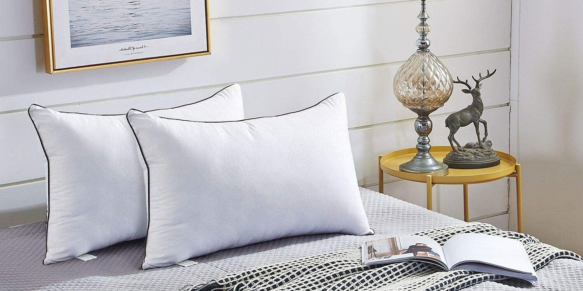 Shoppers Say These Down Alternative Pillows Are 'Even Better Than Hotel Ones'—and They're Less Than $15