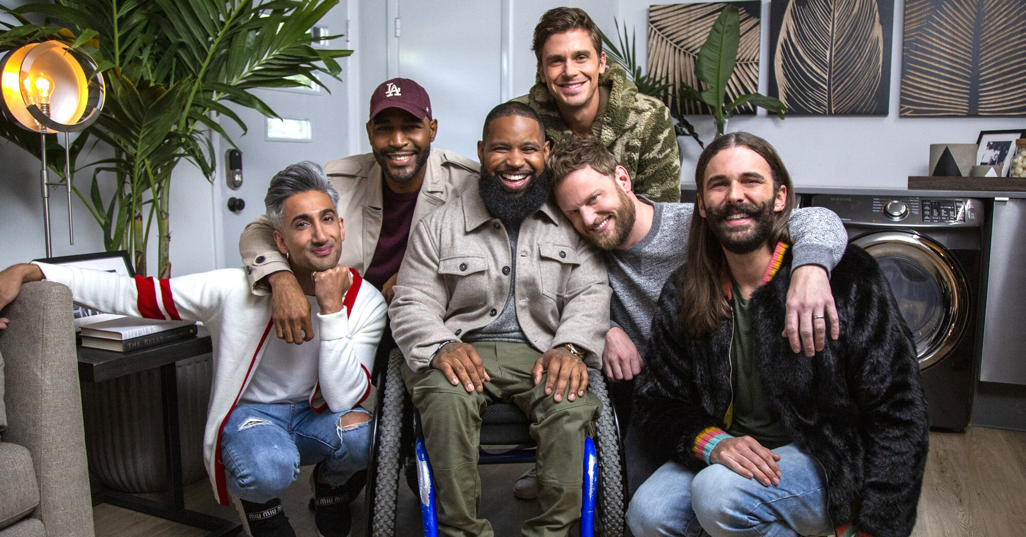 'Queer Eye' hosts on that captivating scene with Wesley's shooter that almost didn't happen