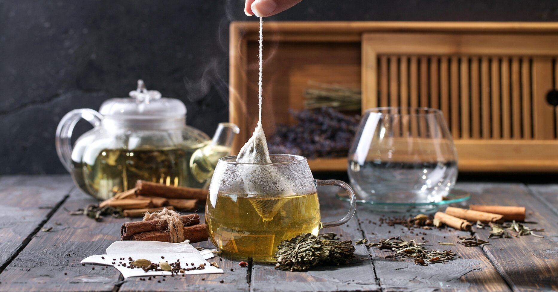 Teas & Rituals & Herbal Brewing              Tisanes - cover