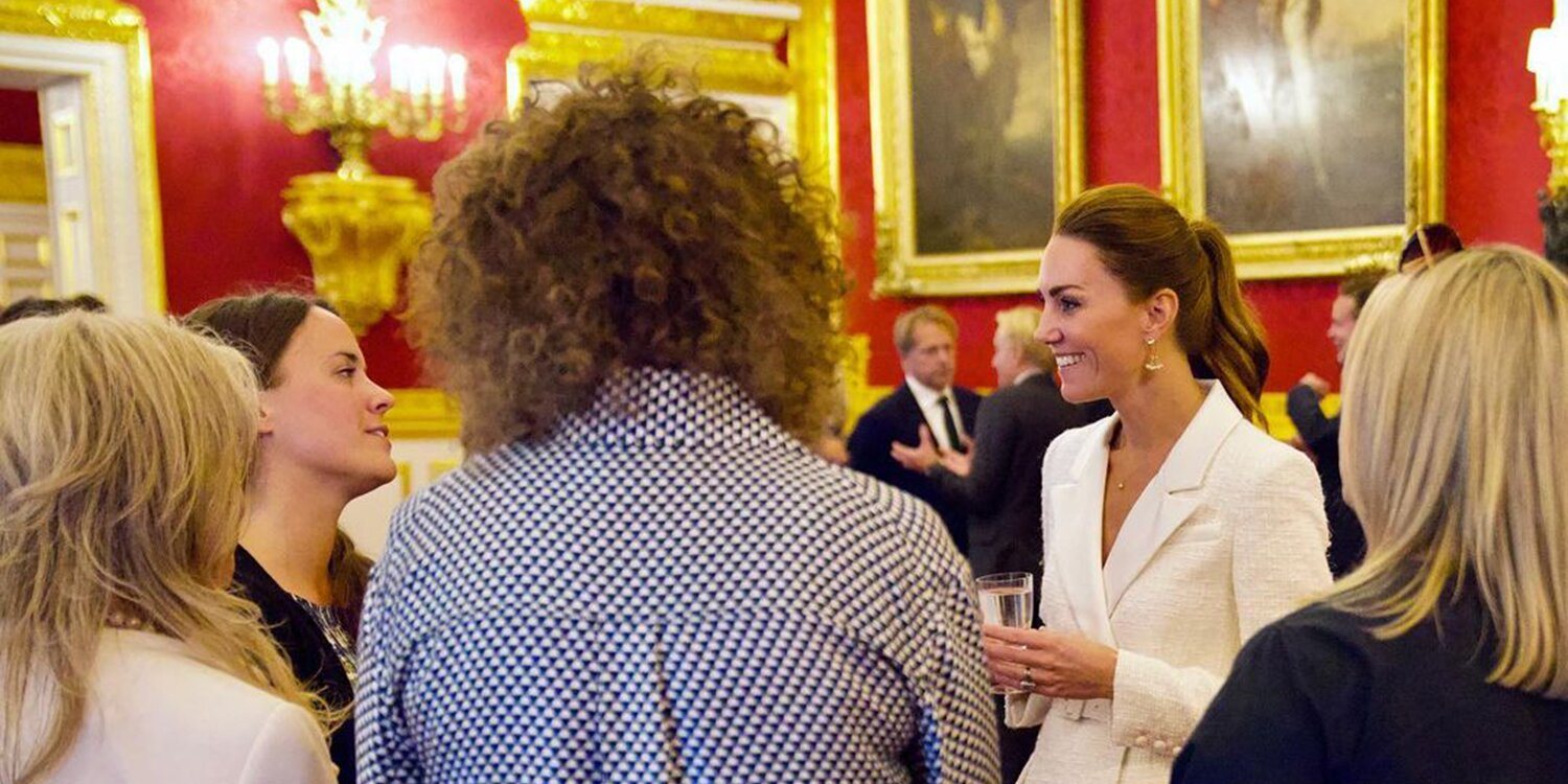 Kate Middleton Stuns in All White at Surprise Outing to Celebrate Her Latest Photography Project