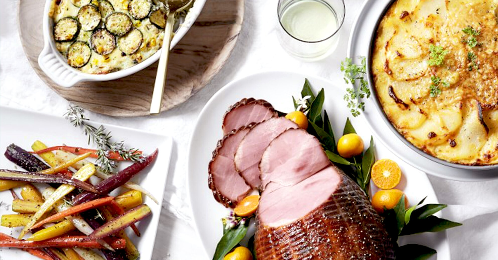 These 5 Retailers Will Deliver a Full Easter Dinner Right to Your Door