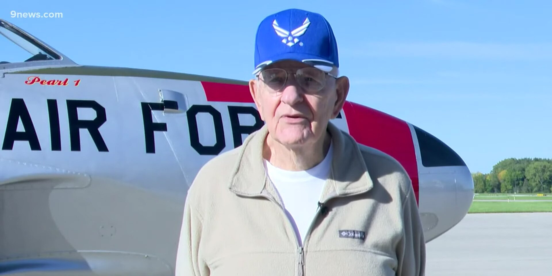 90-Year-Old Vietnam Vet Feels 'Like a Teenager All Over Again' Flying Fighter Jet 65 Years Later