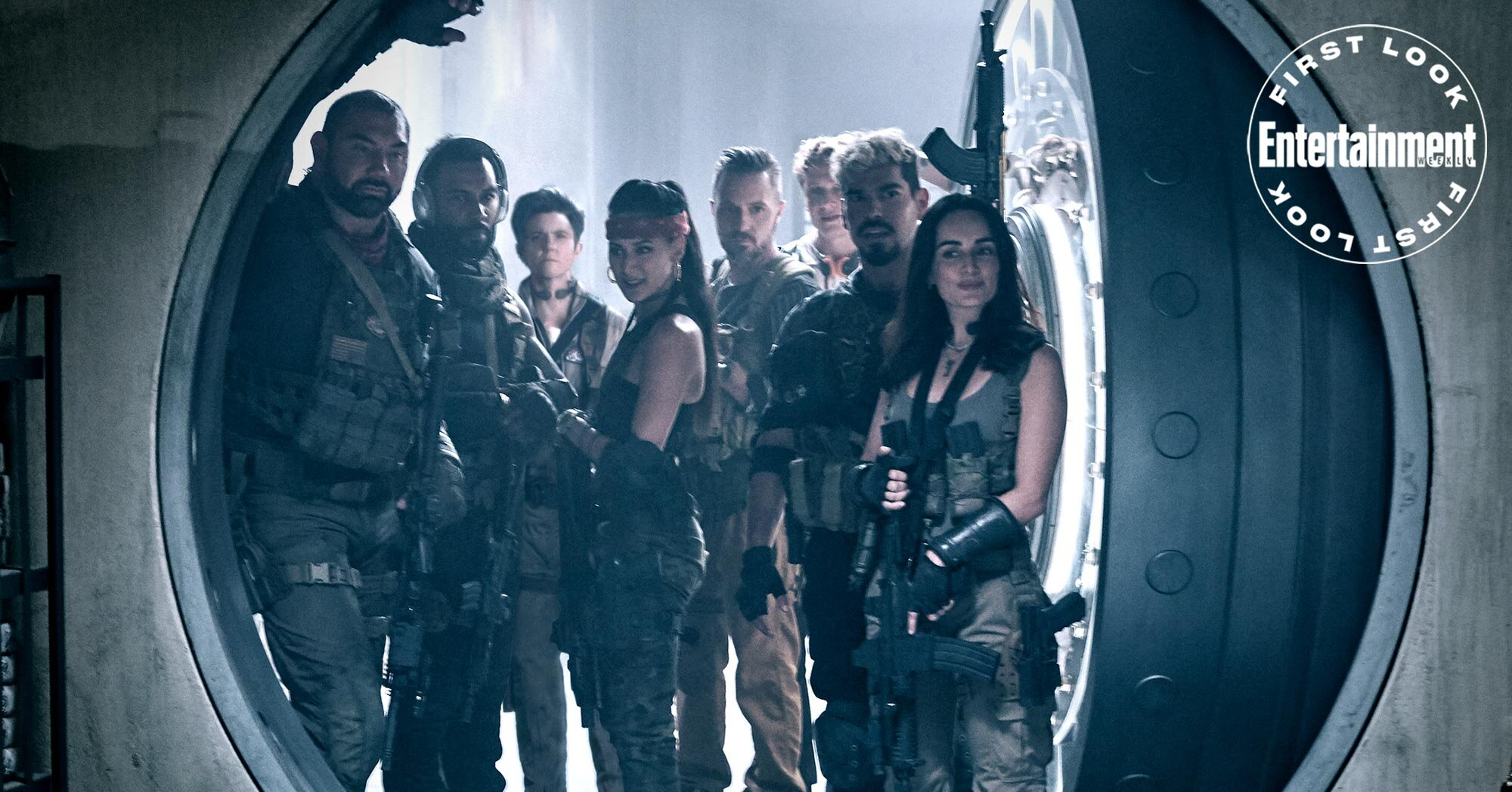 Zack Snyder reveals a first look at his zombie heist Netflix movie 'Army of the Dead'
