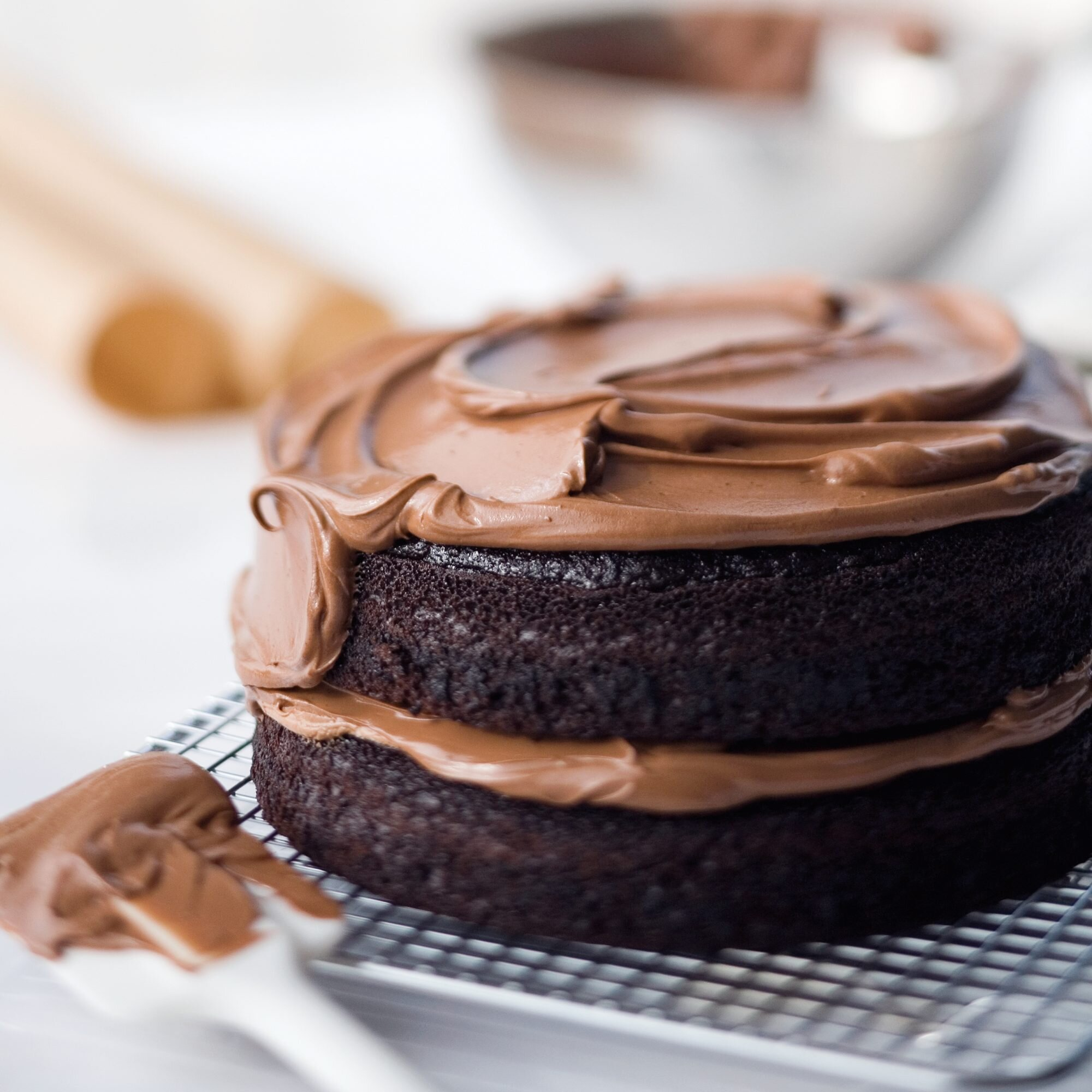 Double Chocolate Layer Cake Recipe Ina Garten Food Wine,How To Clean A Kitchen Faucet Sprayer