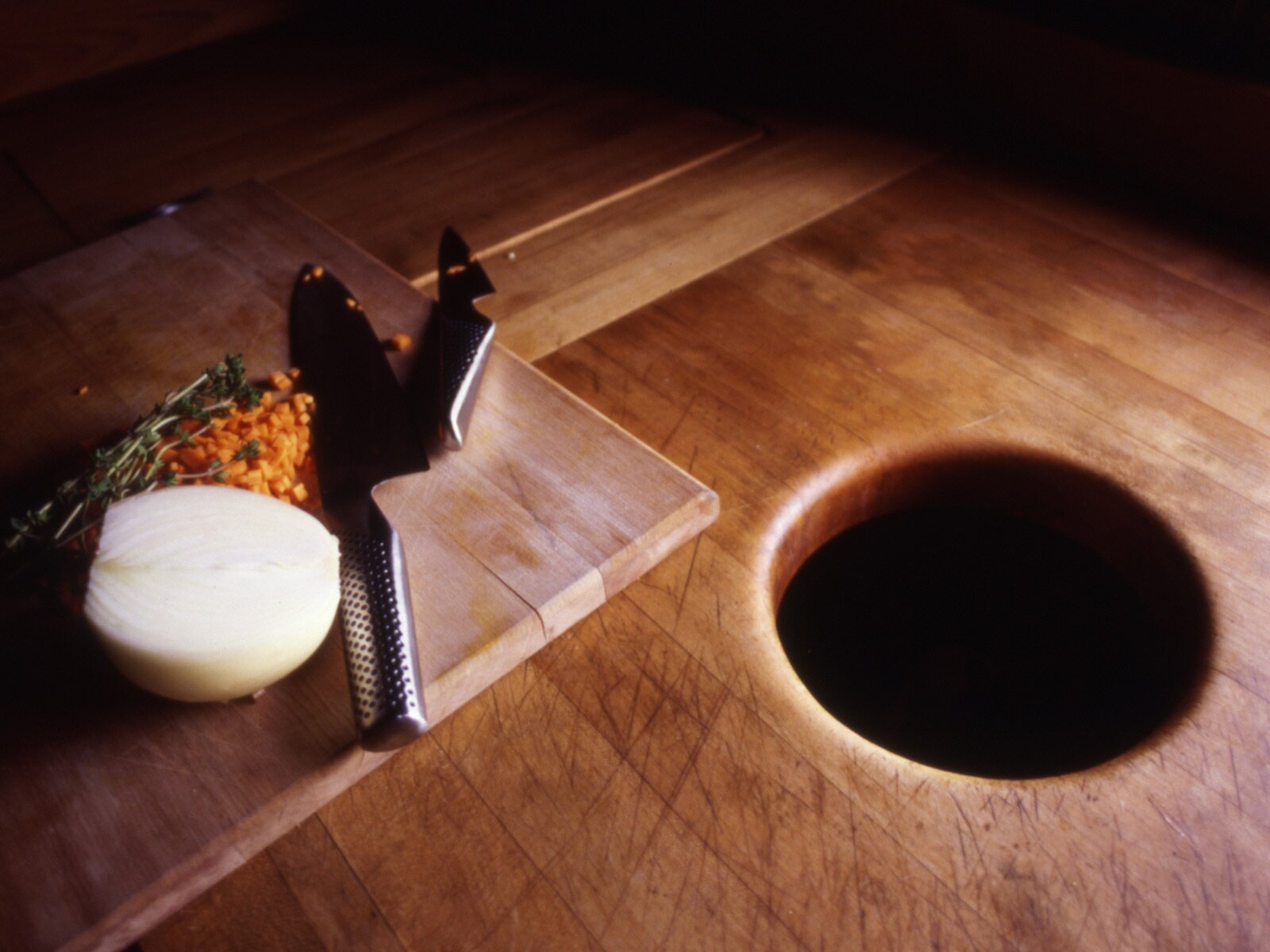 Garbage Hole In Your Kitchen