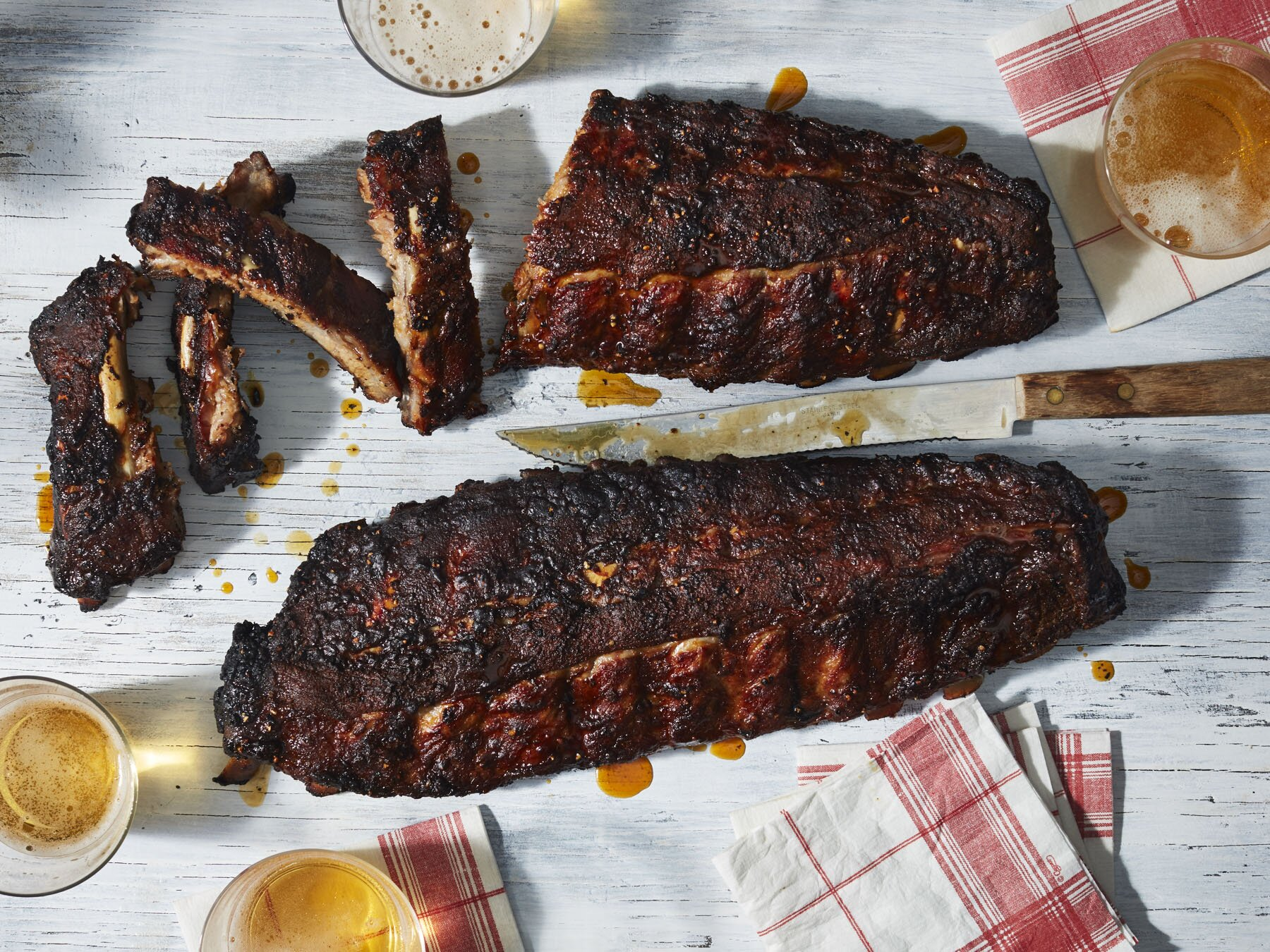 The Best Grilled Ribs Recipe | MyRecipes