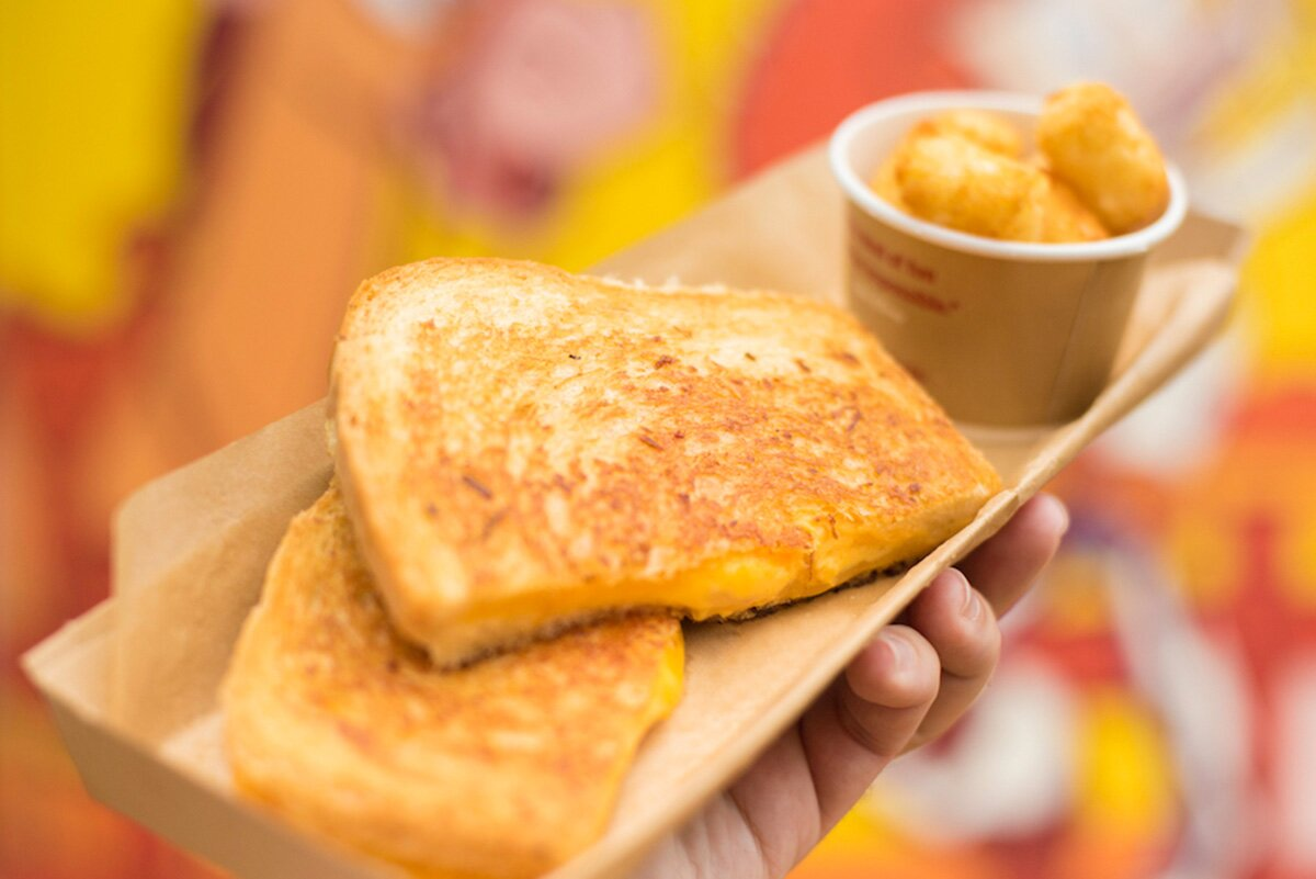 Disney Shares Their Grilled Three-Cheese Sandwich from Toy Story Land