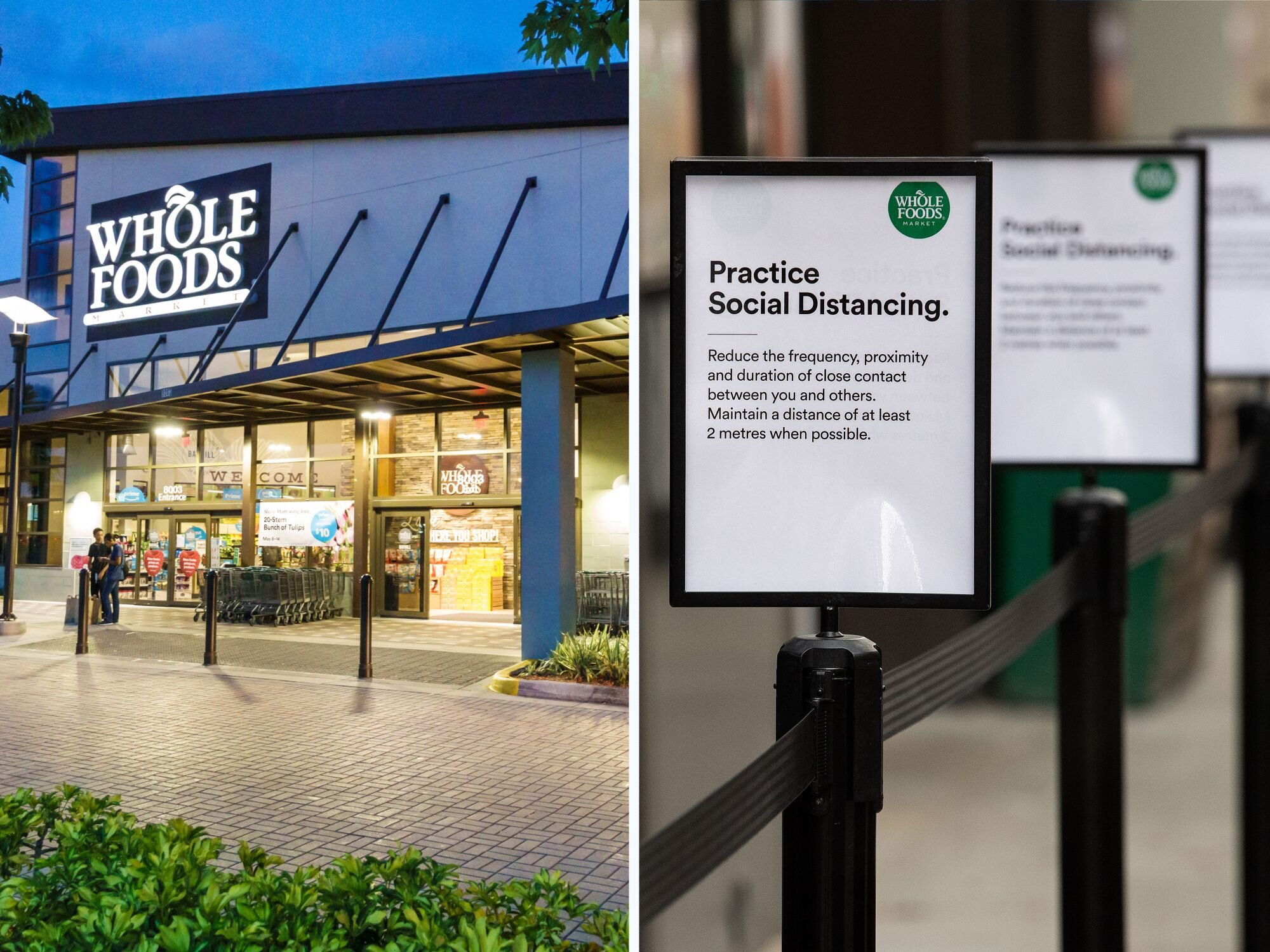 Whole Foods Ranks #1 for Covid-19 Safety Measures, According to a New Report