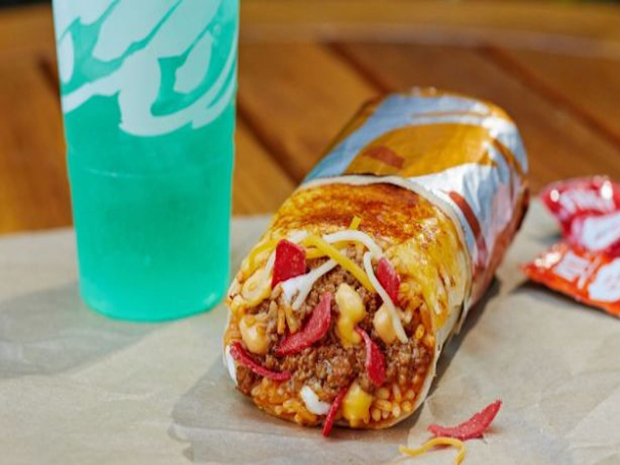 Taco Bell's New Grilled Cheese Burrito Is the Mashup We've Been Waiting For