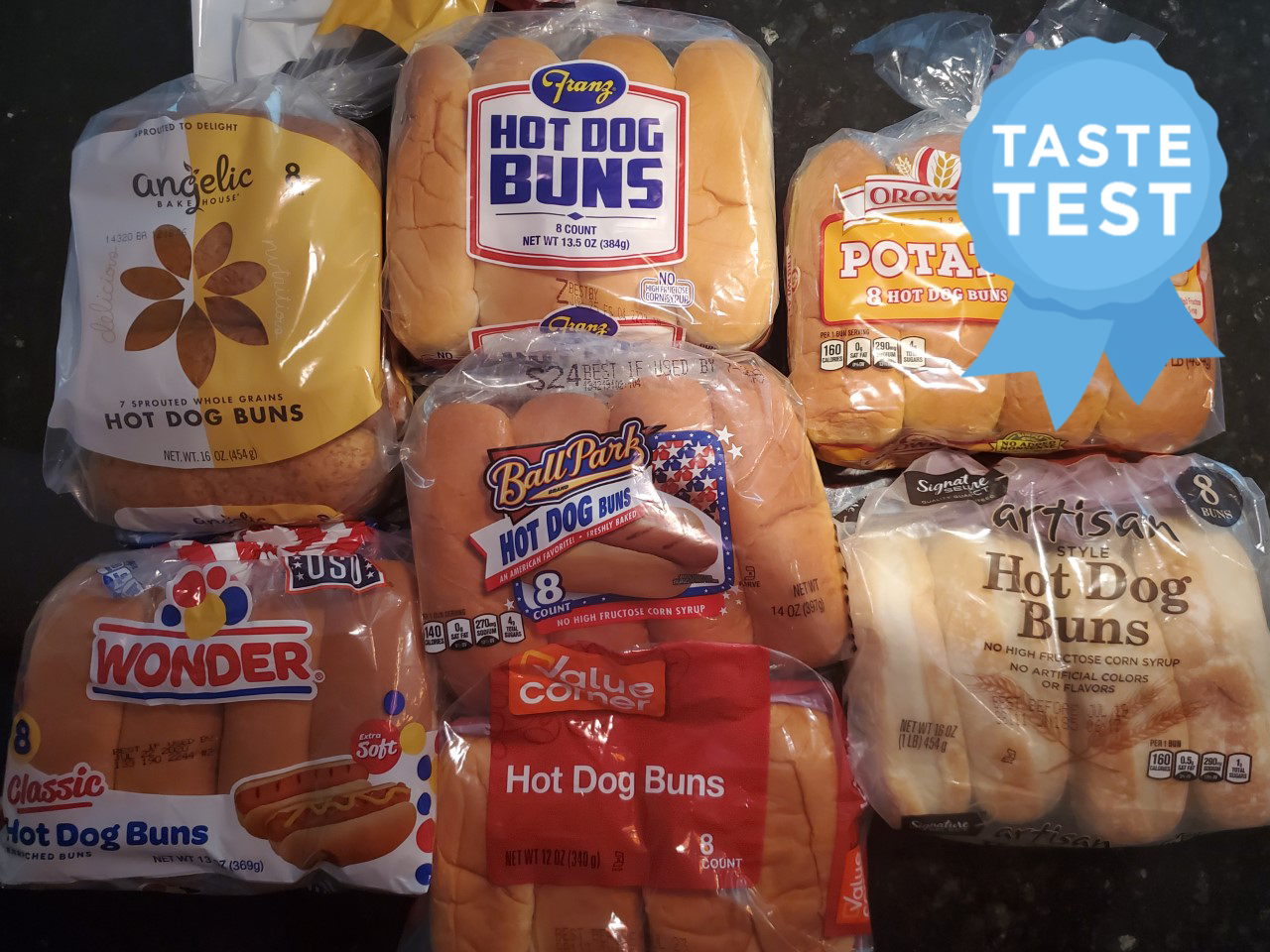 We Tried 7 Hot Dog Buns And These Belong at Your Cookout
