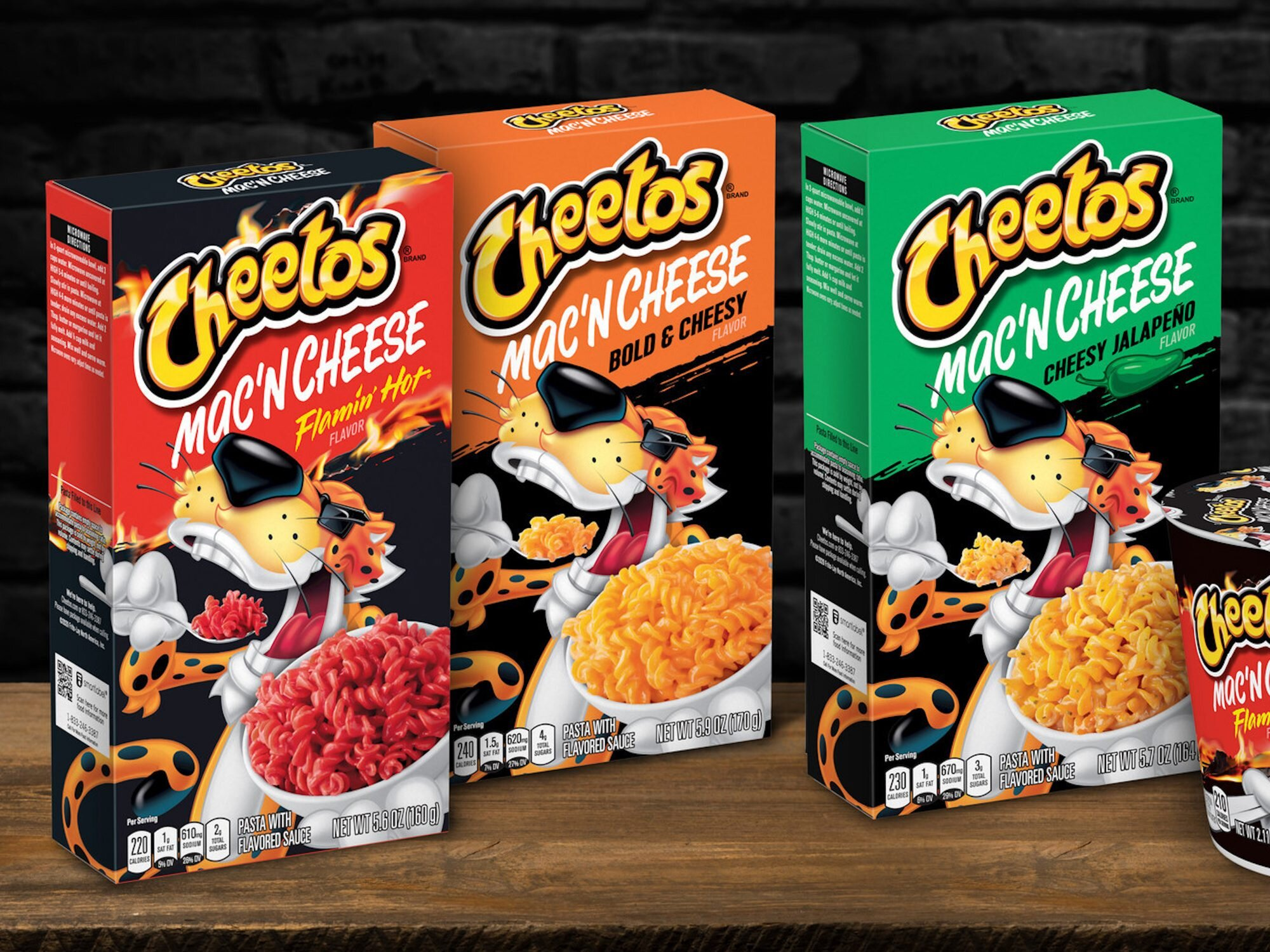 Flamin' Hot News: Cheetos Is Releasing Three Mac & Cheese Flavors