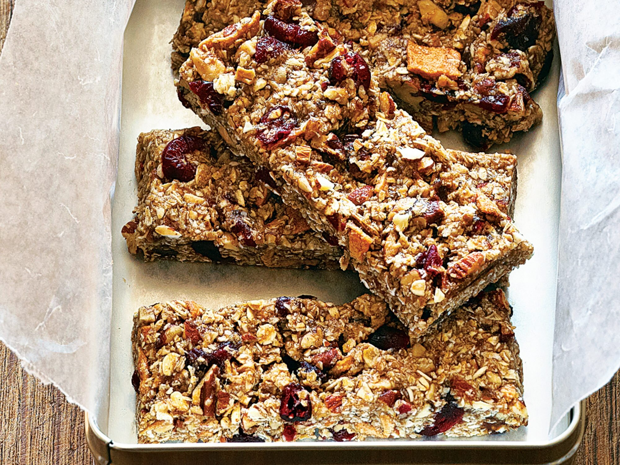 Fruit And Nut Chewy Bars Recipe Myrecipes