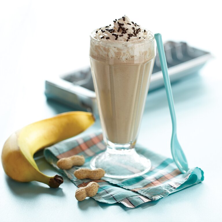 Banana Peanut Butter Smoothies