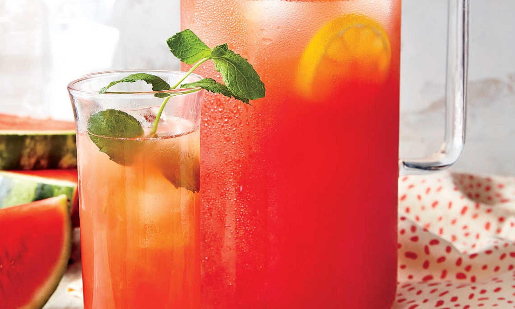 This Spiked Watermelon Lemonade Recipe Will Save You from the Heat