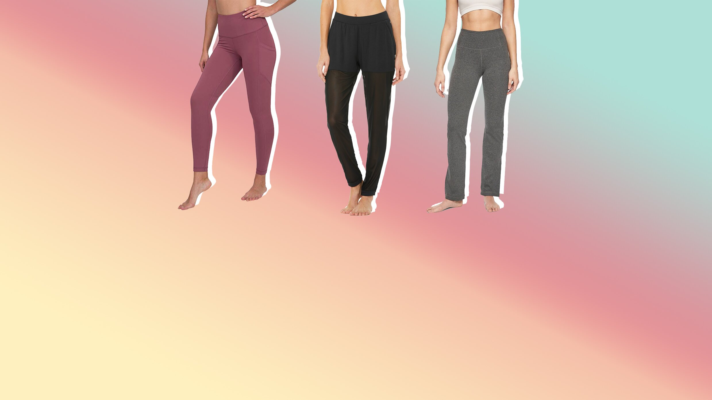 The Best Yoga Pants For Women Health Com