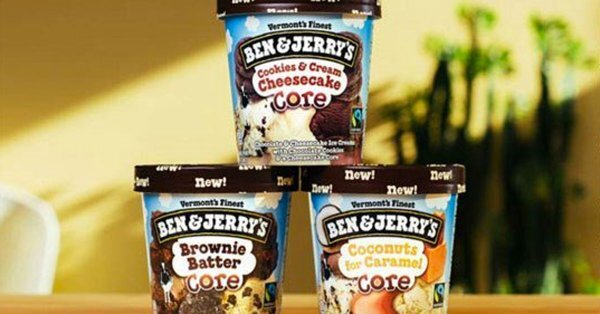 """Ben & Jerry's introduces three new drool-worthy """"core"""" ice cream flavors"""
