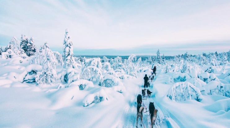 Winter in Finland is basically the most gorgeous thing ever, as proven by these photos