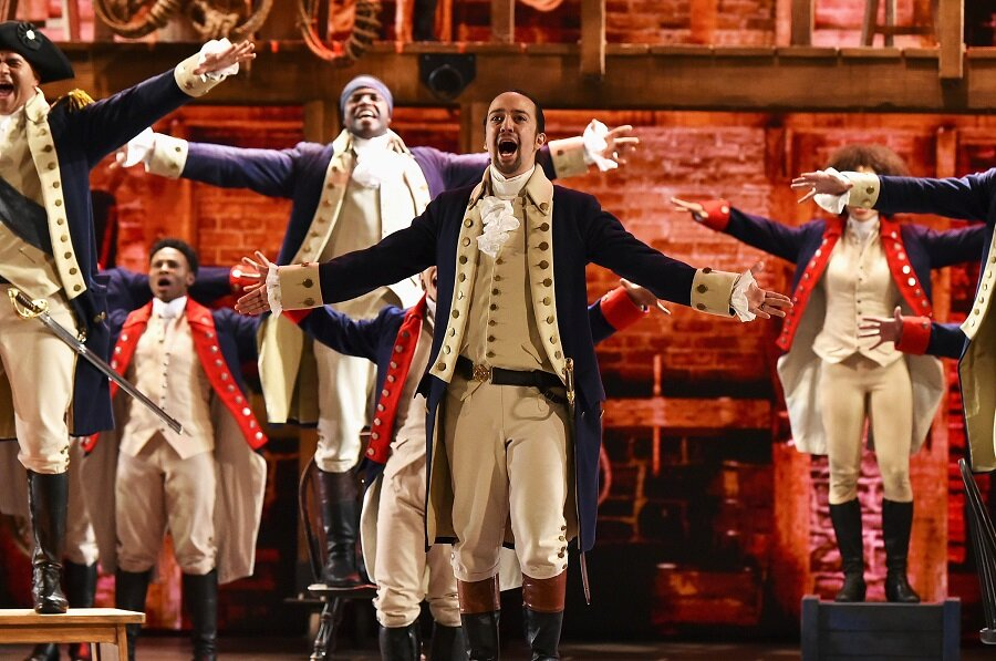 Disney+ just dropped the first trailer for Hamilton