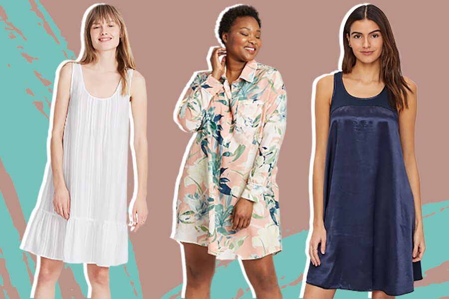 11 pretty nightgowns that'll make you ditch pajama shorts this summer