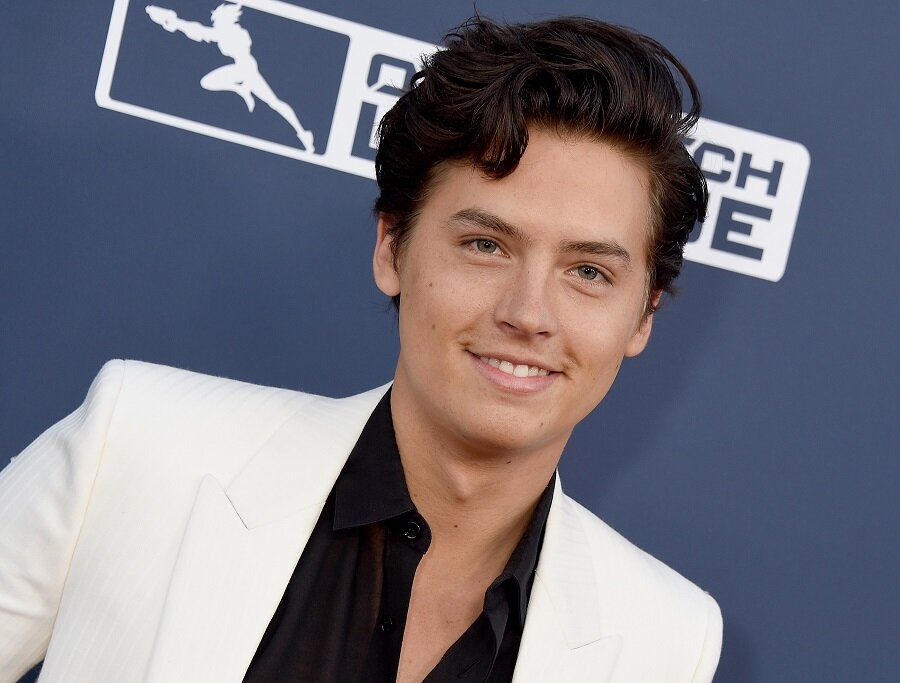Cole Sprouse changed up his look in this photo, and TBH, we thought it was Dylan