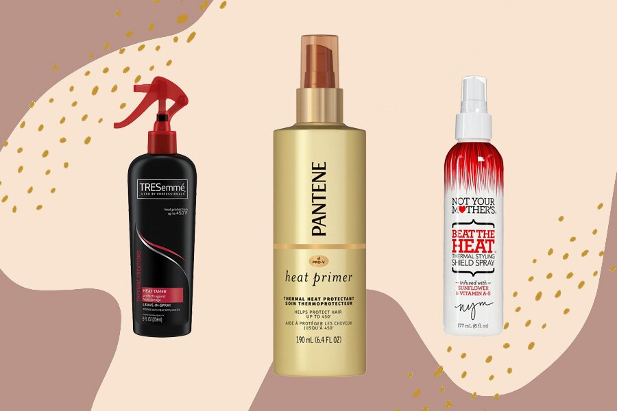 8 heat protectant sprays that will shield hair from hot tool damage