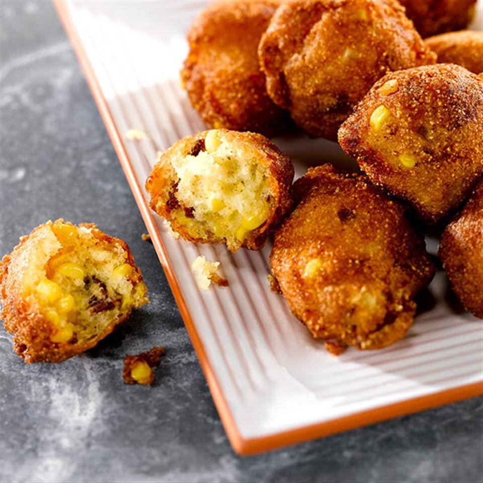 fresh corn fritters recipe