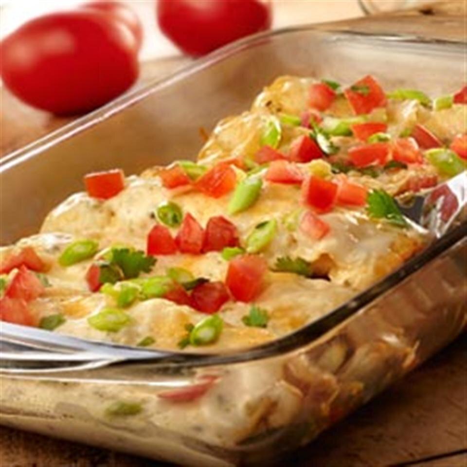 cheesy poblano chicken enchiladas recipe