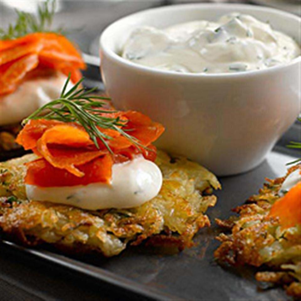 herbed potato rosti recipe