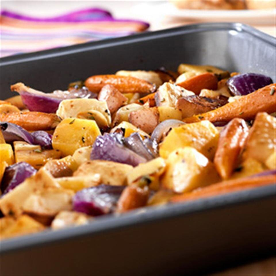 oven roasted root vegetables from swanson