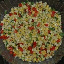 southwestern style corn salad