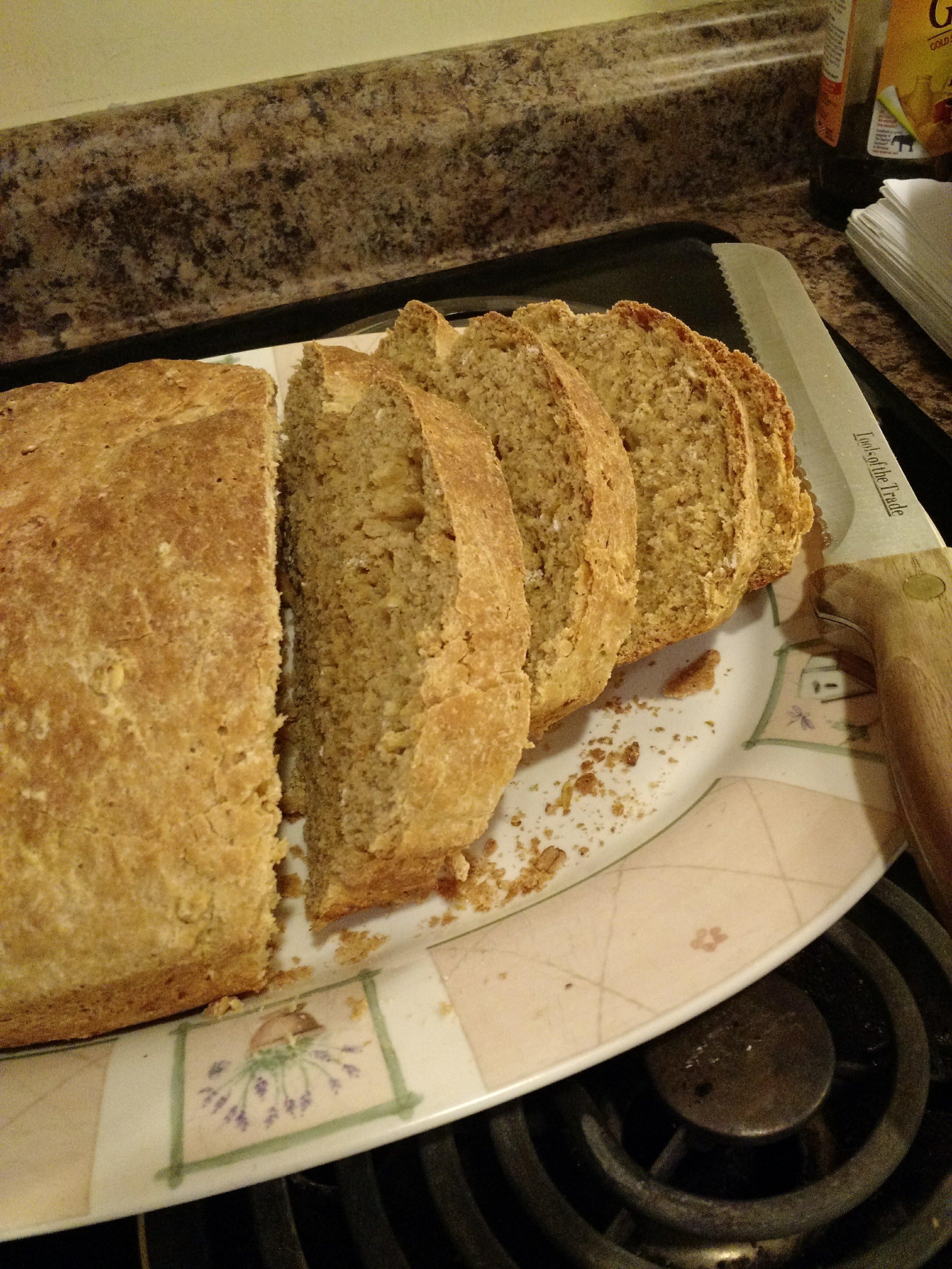 moms spelt bread
