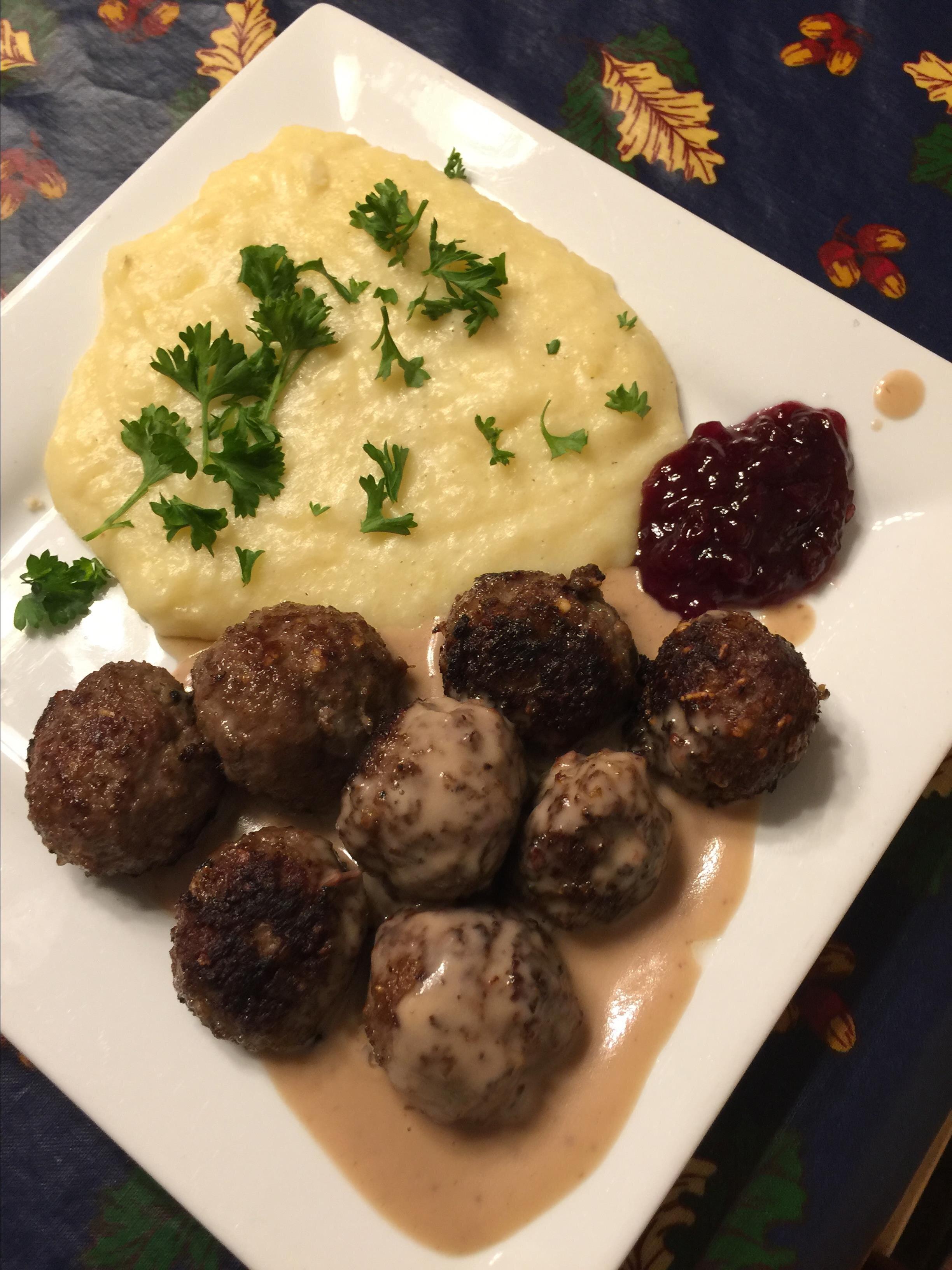 authentic swedish meatballs recipe