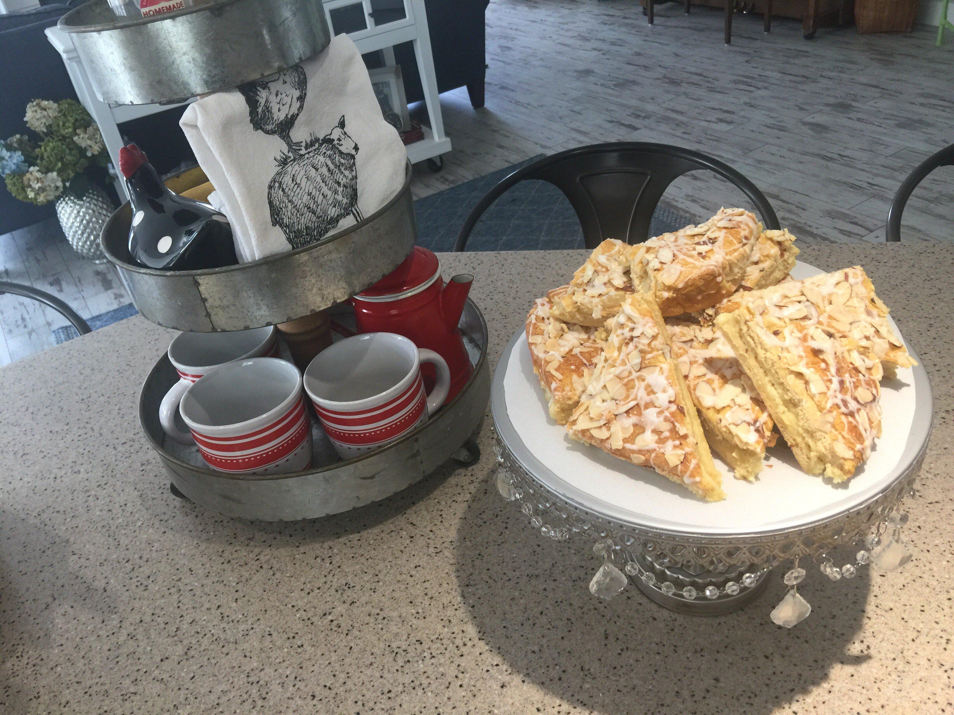 easy danish almond pastries recipe
