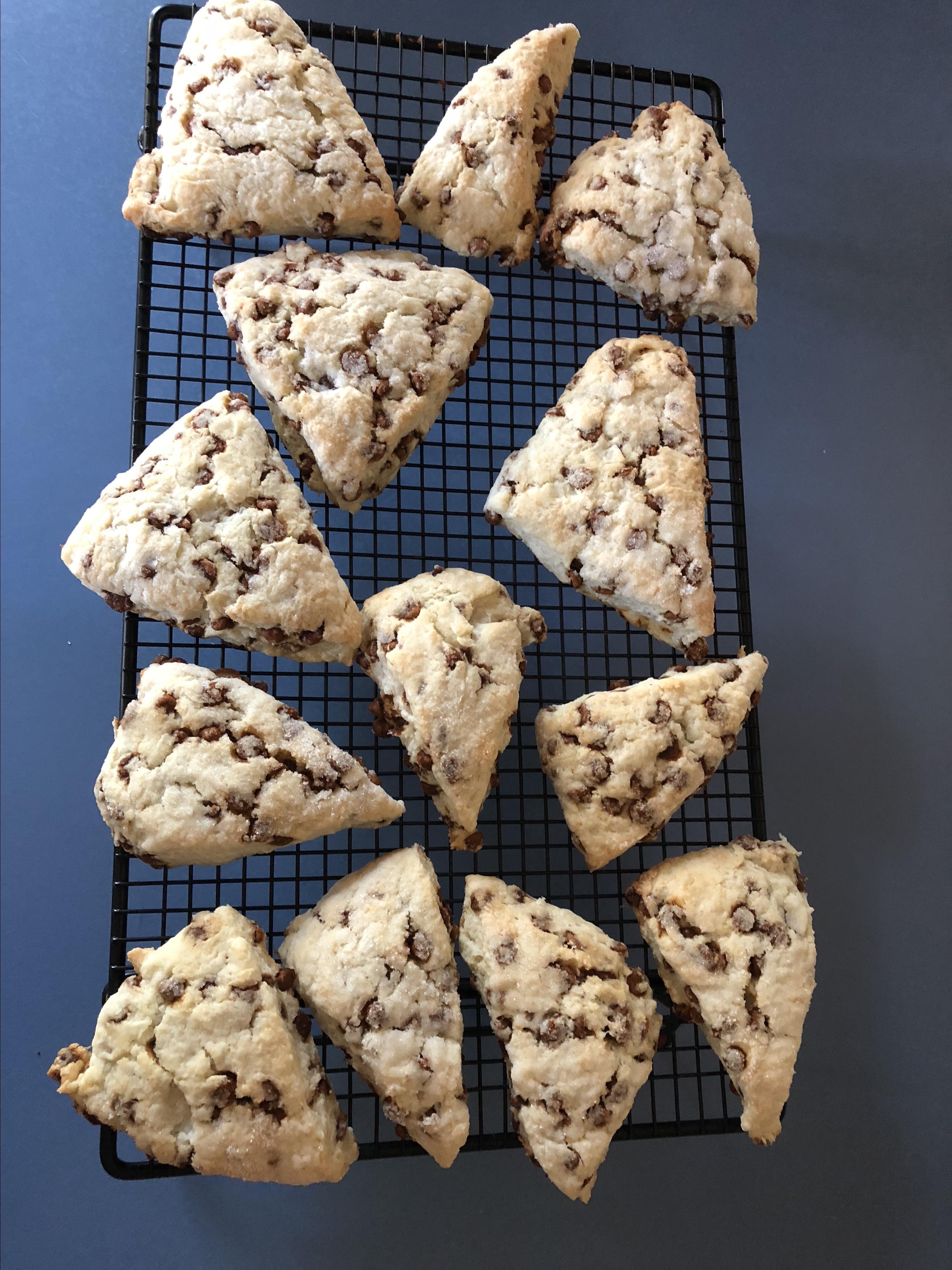 easy cinnamon chip scones recipe