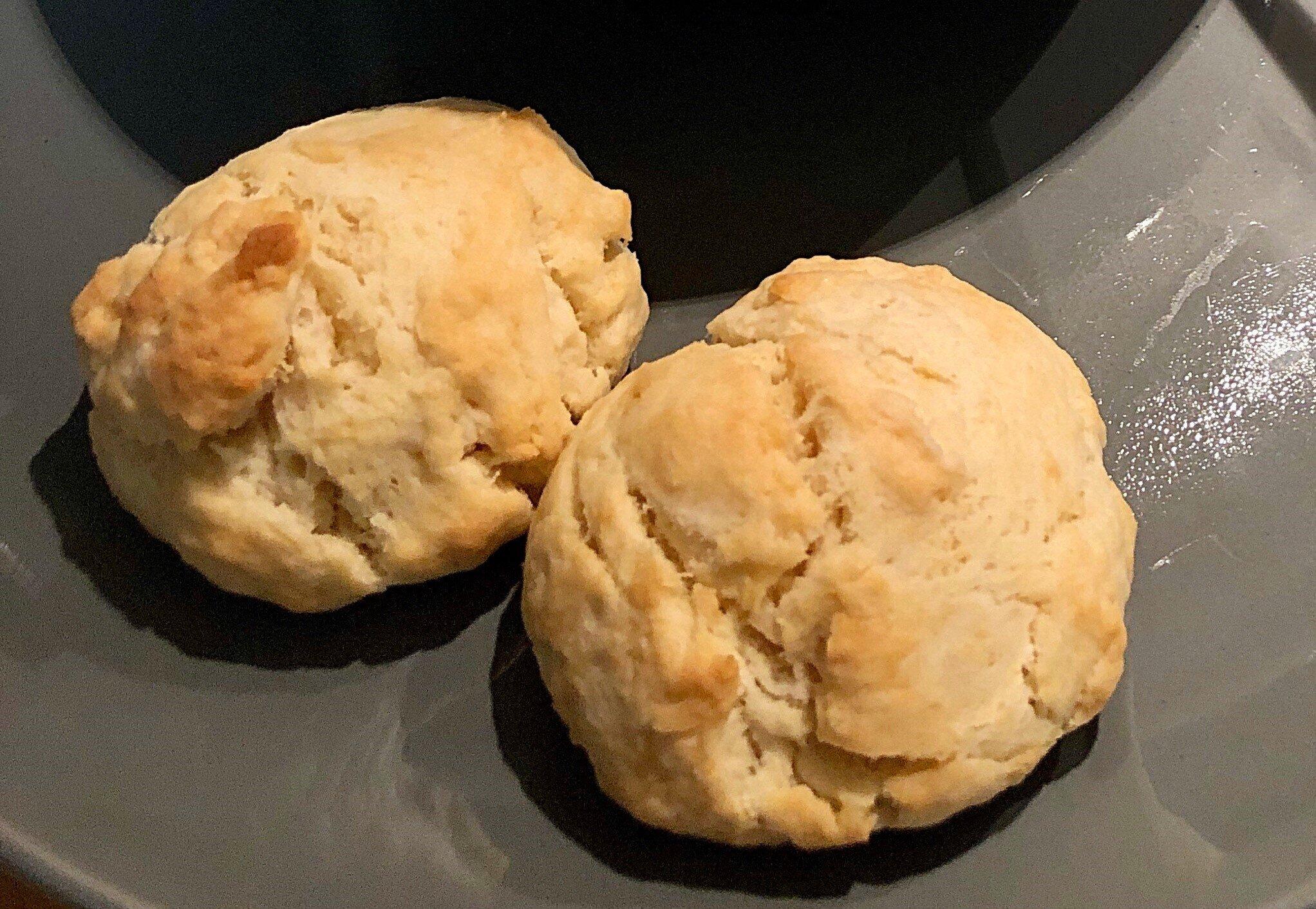 vegan buttery drop biscuits recipe