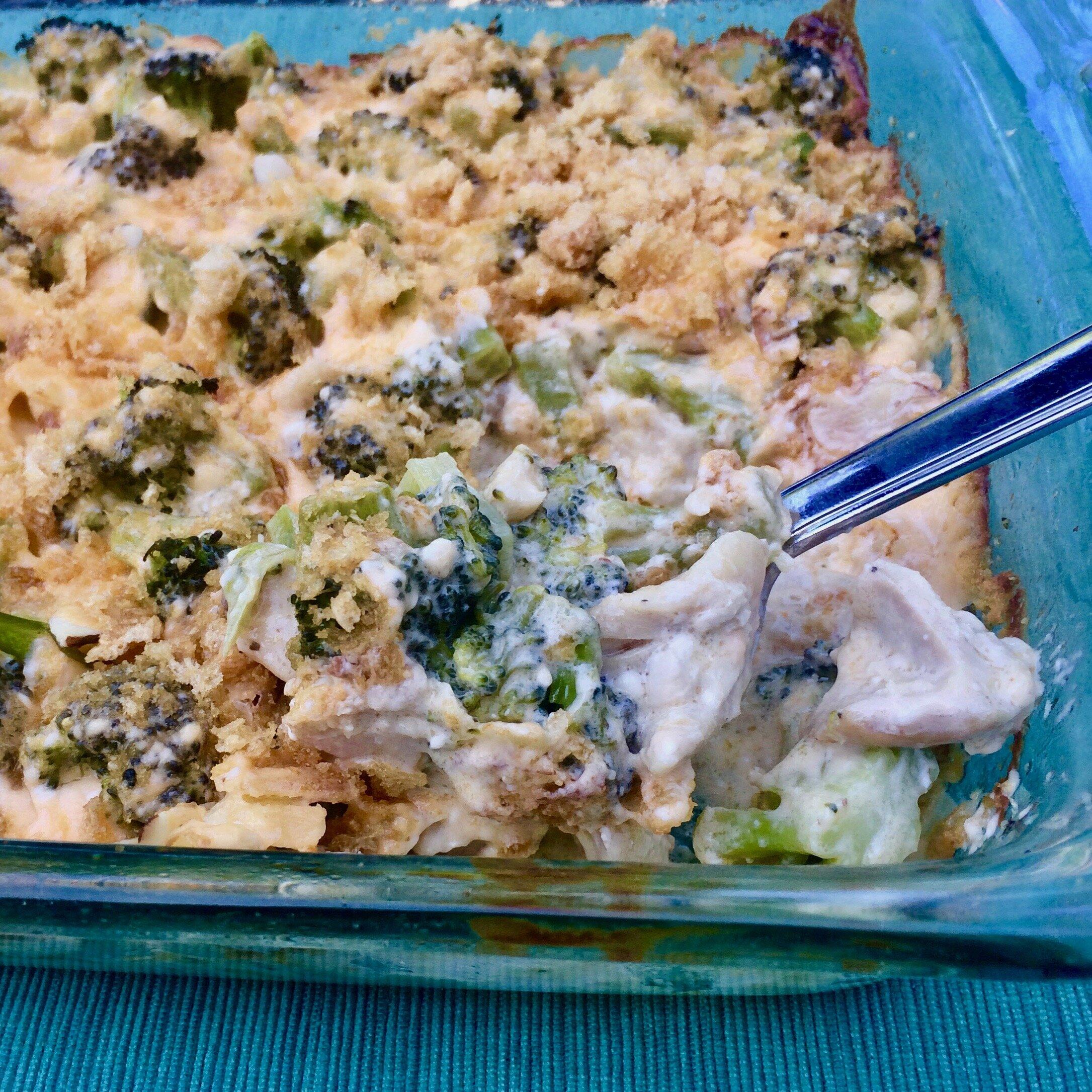 keto chicken and broccoli casserole recipe