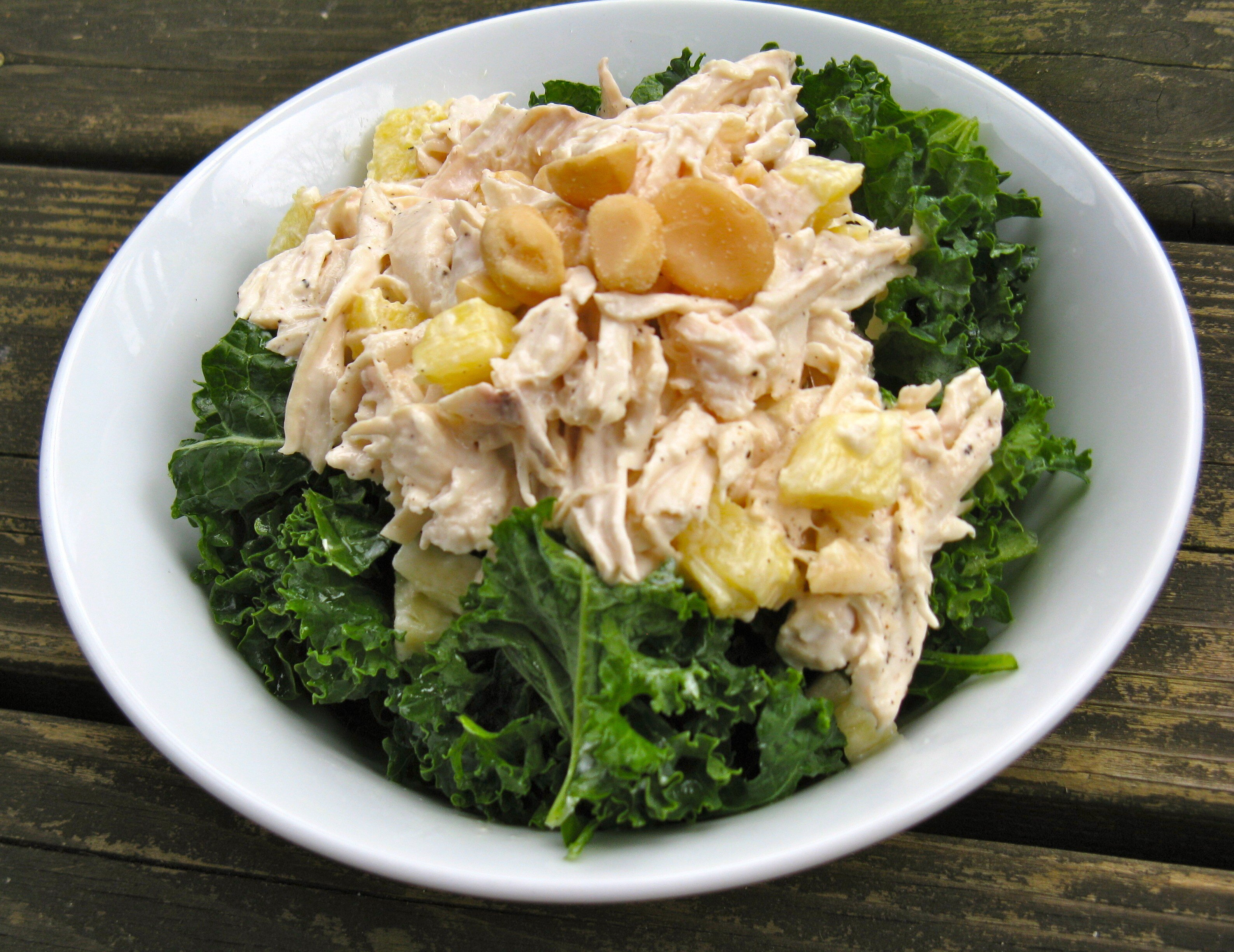 tropical curry chicken salad recipe